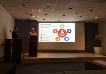 Kay presented during health week at MUMC+